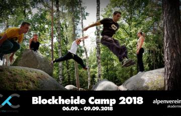Blockheide Camp 2018 ( 'Natur Parkour' - Alpenvereinsakademie)