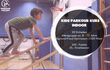 Kinder Parkour Kurs - Winter 2019