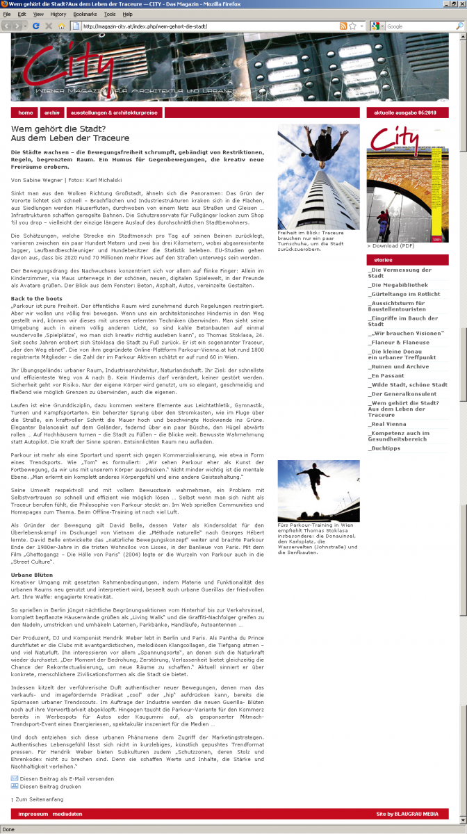 Online - City Magazin