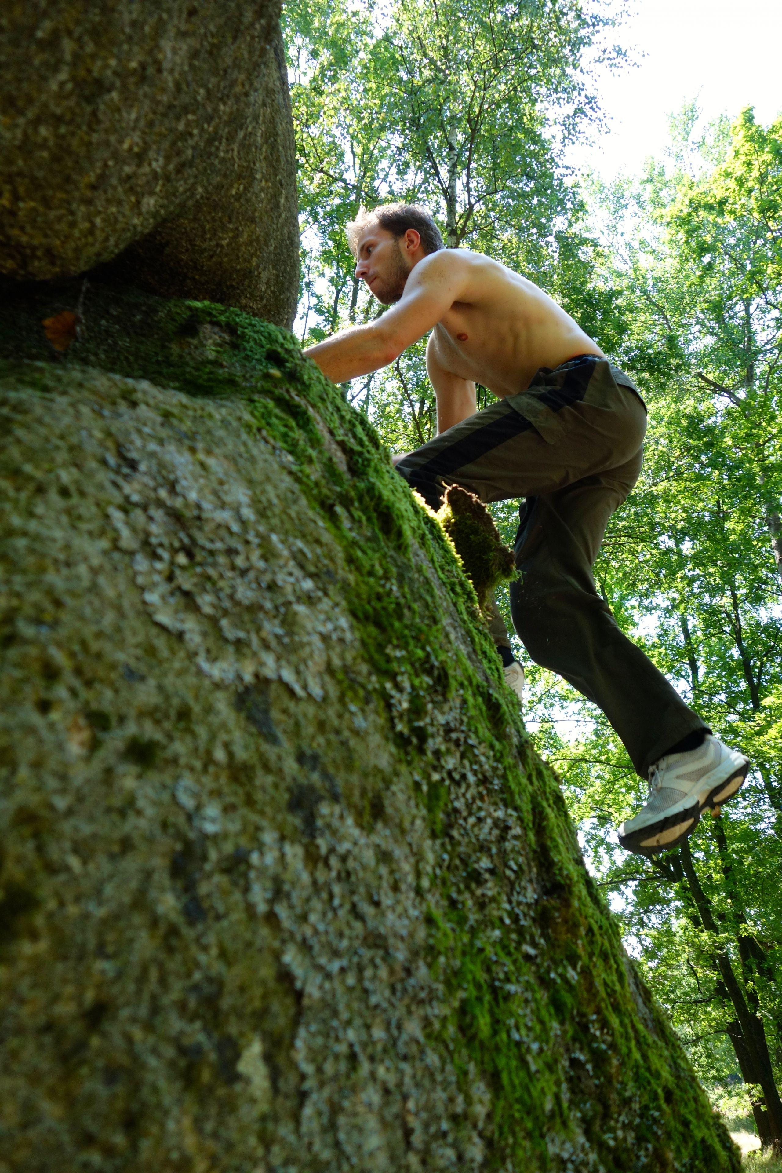 Marc - Climbing