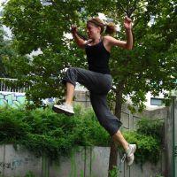 Ella flying #2