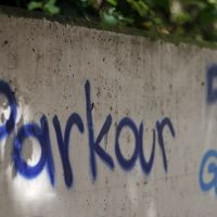 Parkour Graffiti