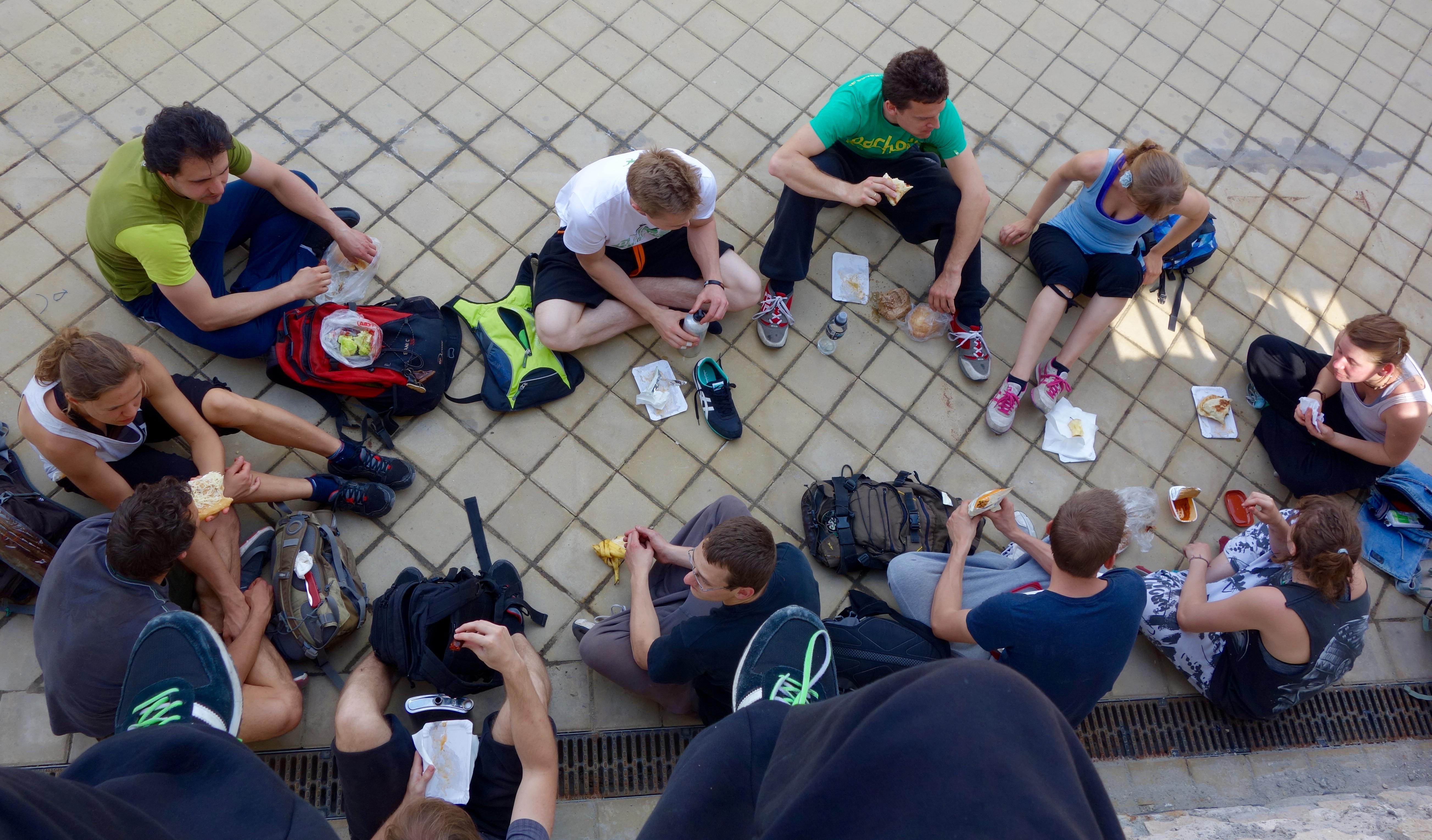 Group von oben