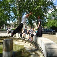 Andras jumping