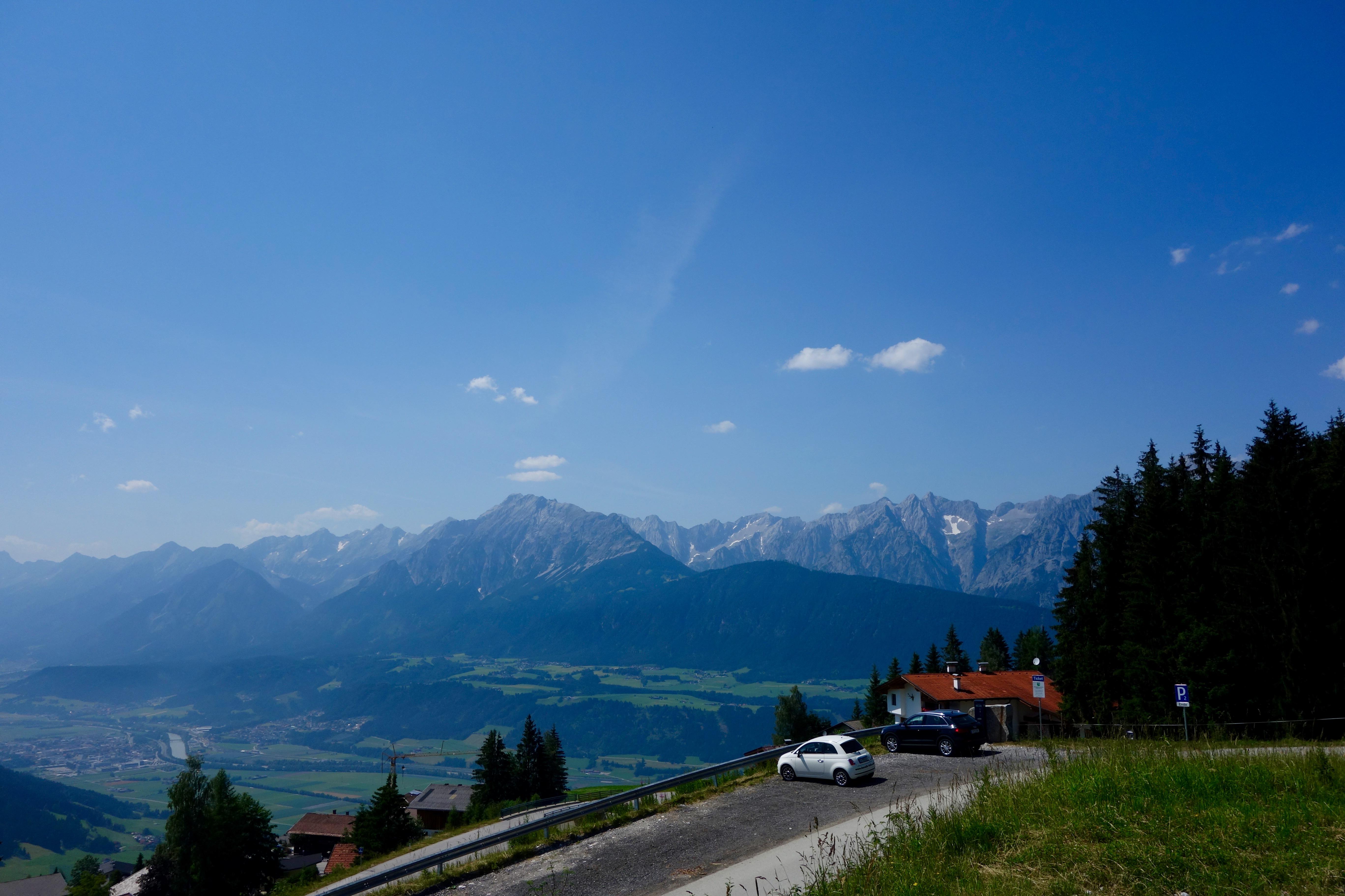 Aussicht auf das Tiroler Inntal