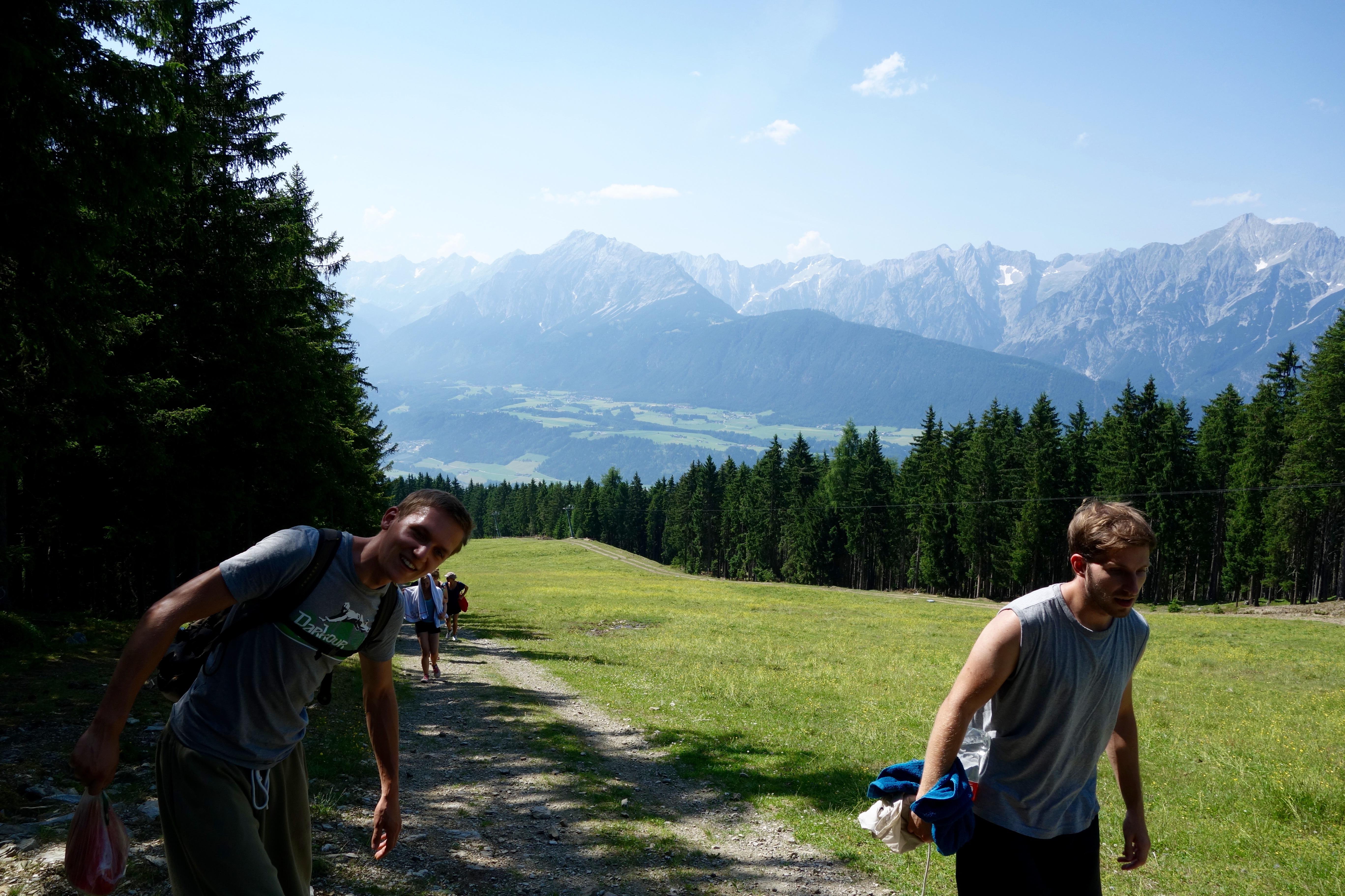 Wandern am Berg