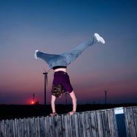 Alex Handstand #1