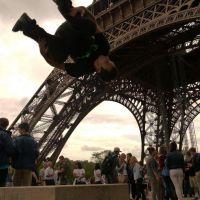 Eiffelturm - Sideflip