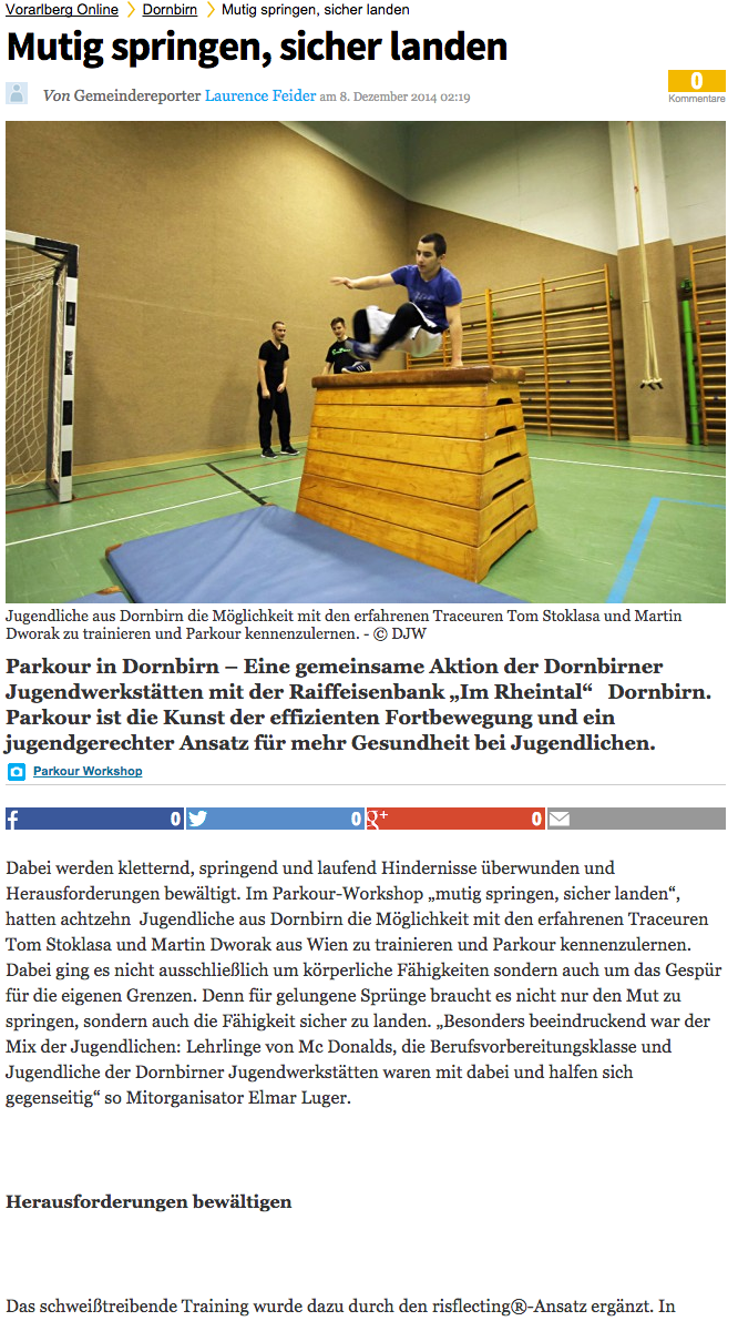 Vorarlberg Online (Workshop in Dornbirn)