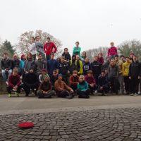 15.03.2015, Kongresspark - bei trübem Wetter und guter Laune