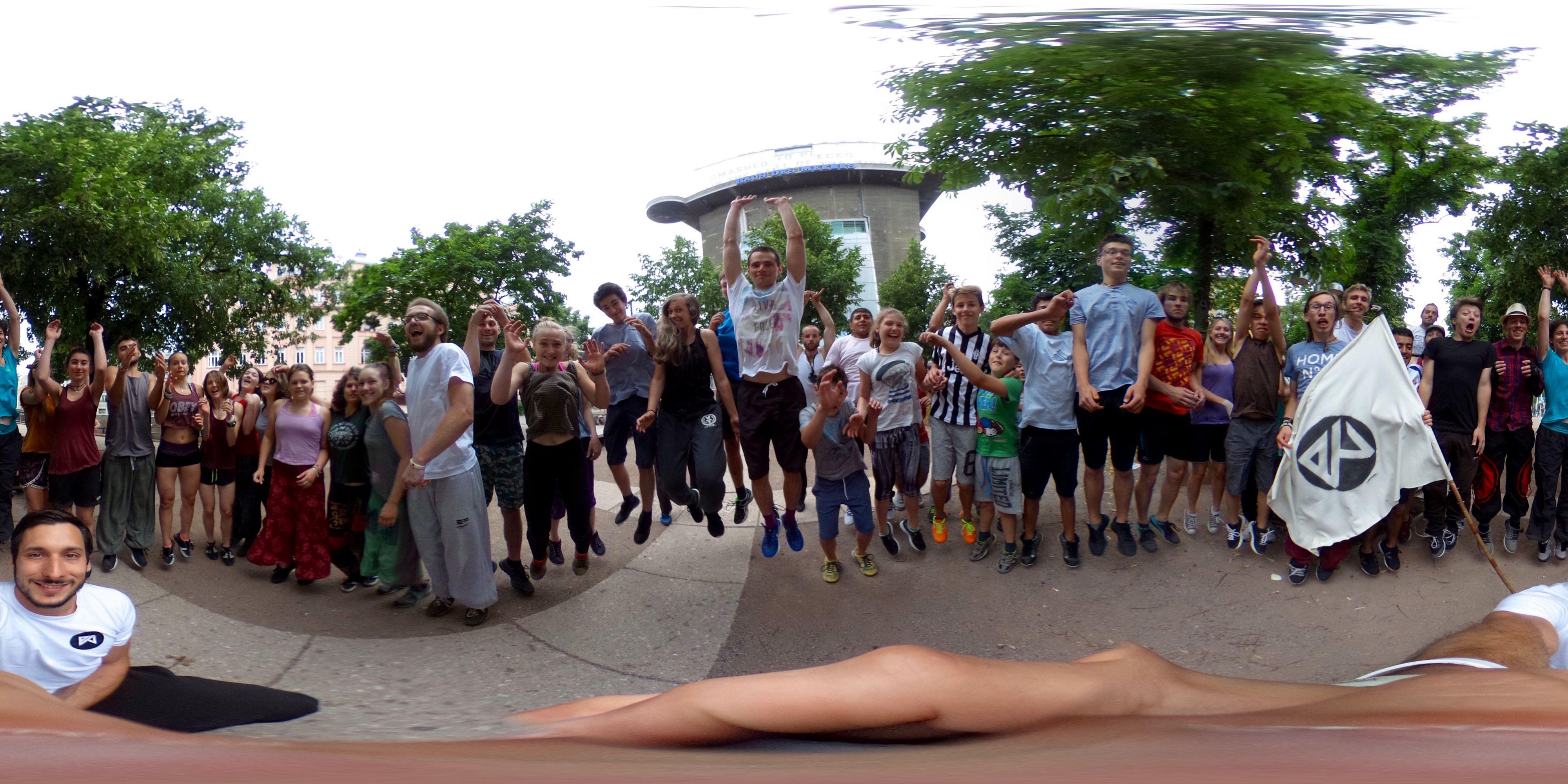 360grad Forum-Meeting Gruppenbild (25.06.2017)